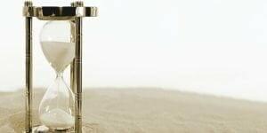 hourglass, clock, time