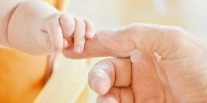 baby, hand, infant
